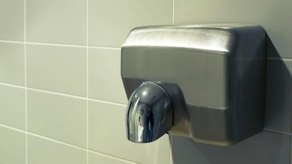 máy sấy tay gắn tường