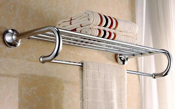 Mua giá treo khăn tắm phù hợp không gian phòng tắm
