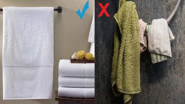 Khách sạn không nên mua khăn mặt giá rẻ cho khách thuê phòng dùng