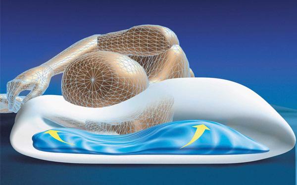 Khả năng thay đổi hình dạng theo tư thế ngủ vô cùng linh động
