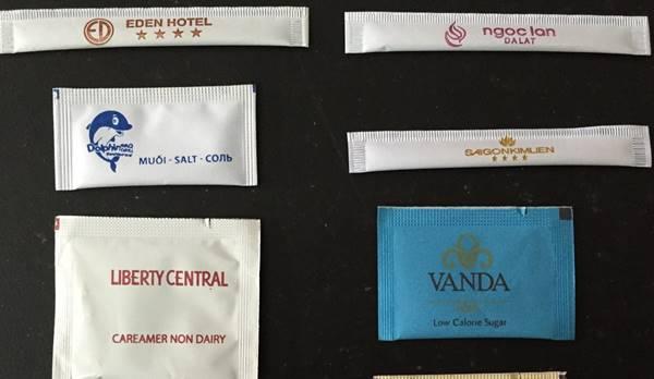 phân phối đường gói khách sạn