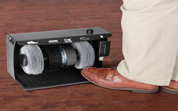 Hướng dẫn cách sử dụng máy đánh giày tự động tại khách sạn, tòa nhà