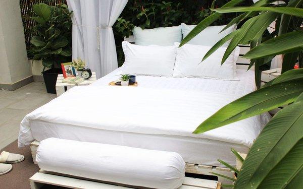 Ga trải giường sạch sẽ, tươm tất tạo ấn tượng tốt với du khách
