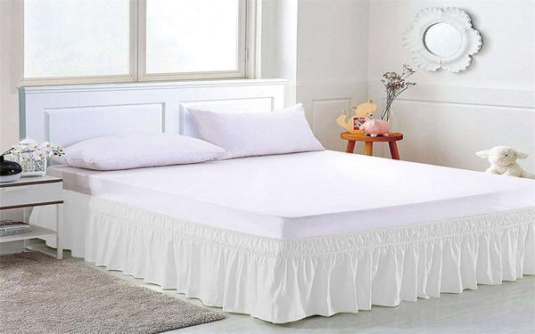 Váy giường là gì? Công dụng của váy giường khách sạn, spa mang lại