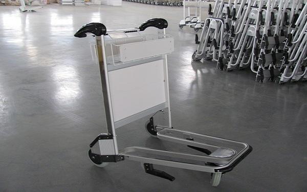 Kinh nghiệm chọn mua xe đẩy hành lý sân bay, khách sạn