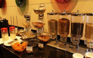 Bình đựng ngũ cốc – dụng cụ tiệc Buffet tạo sự chuyên nghiệp
