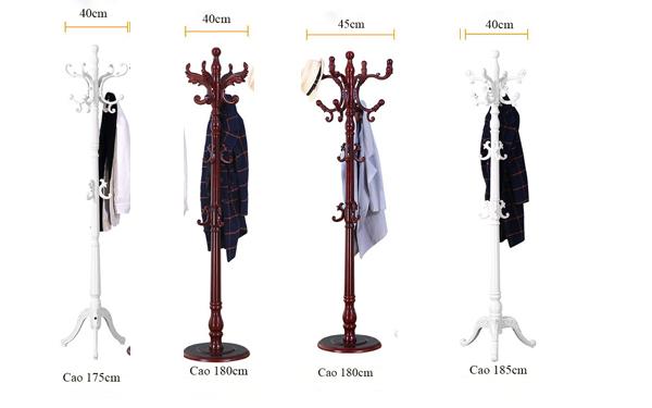 Cây treo quần áo gỗ MT06