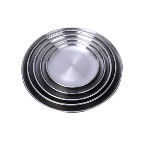 Đĩa inox tròn