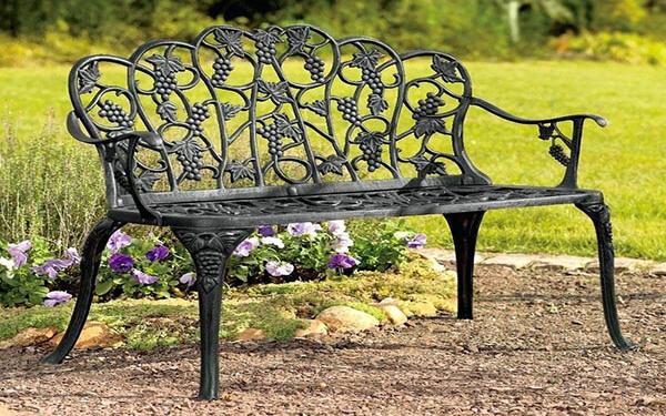 50+ mẫu ghế công viên bằng sắt – ghế ngoài trời đẹp nhất 2020