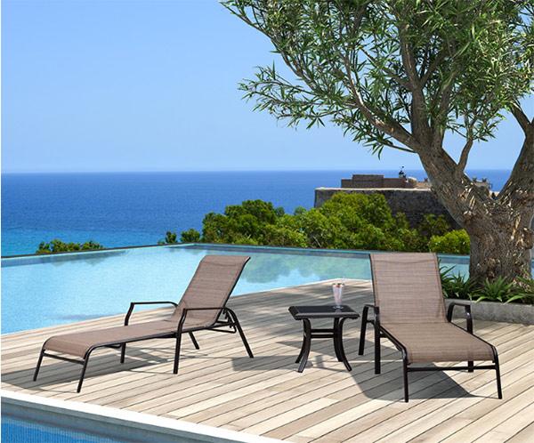 Mẫu ghế bể bơi hiện đại chuyên dùng cho không gian sang trọng