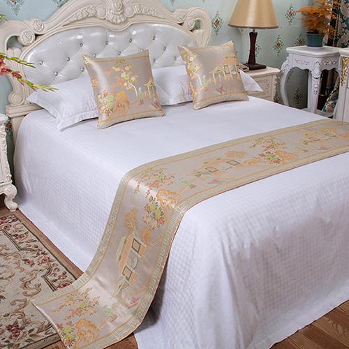 Tấm trang trí giường khách sạn họa tiết