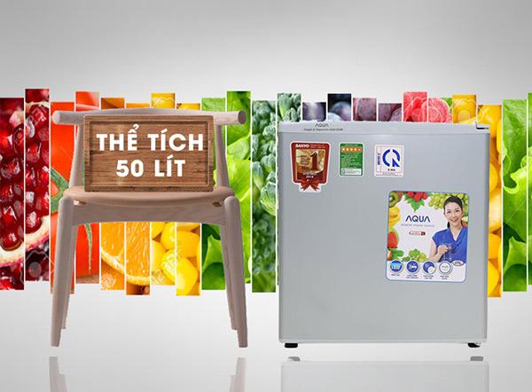 Tủ lạnh mini chuyên dùng trong khách sạn với dung tích 50 lit