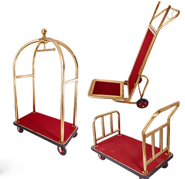 Luggage trolley là tên tiếng anh của cụm từ xe chở hành lý
