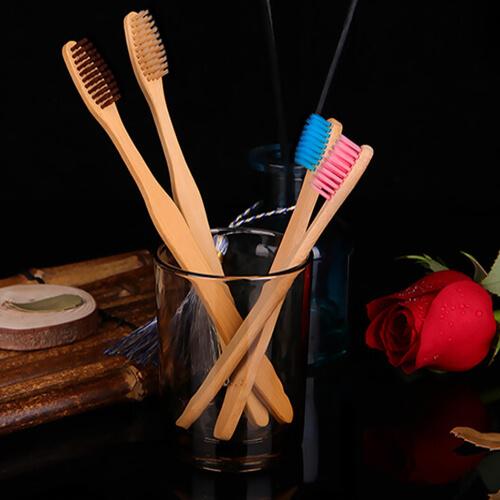 Bàn chải đánh răng bằng tre