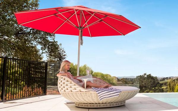 Kinh nghiệm chọn mua ô dù che nắng ngoài trời đẹp, bền, rẻ