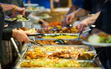 Điểm danh các loại khay Inox dùng trong nhà hàng tiệc buffet