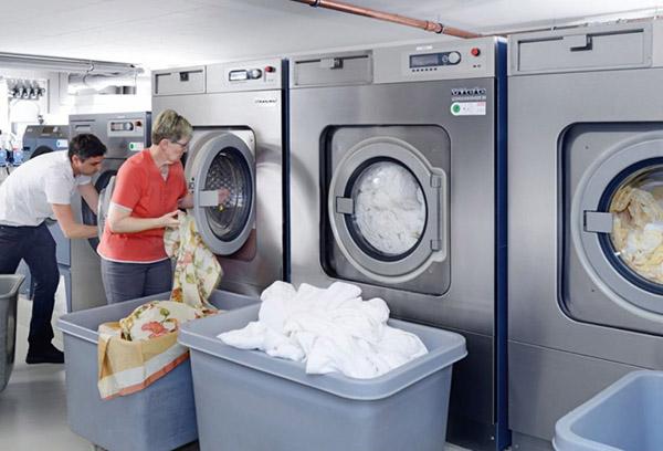 cách sử dụng máy giặt khô công nghiệp