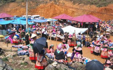 """Chợ lùi Hà Giang và những nét văn hóa """"có một không hai"""""""