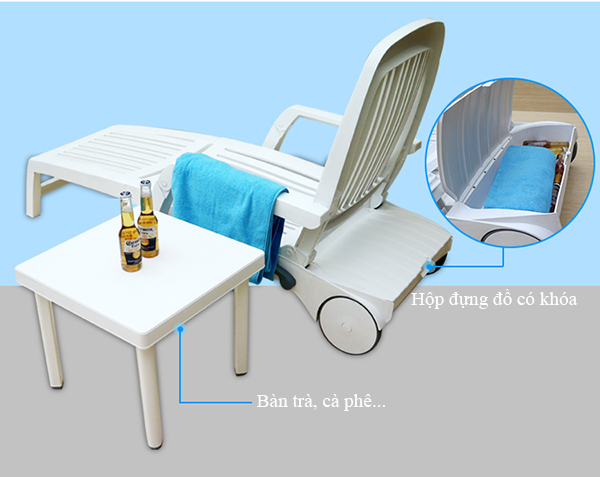 Giảm thiểu chi phí khi mua ghế hồ bơi
