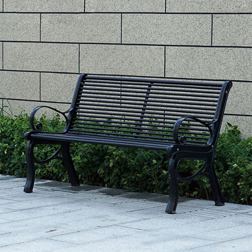 Ghế công viên gang đúc