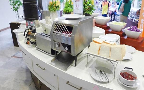 máy nướng bánh mì băng chuyền