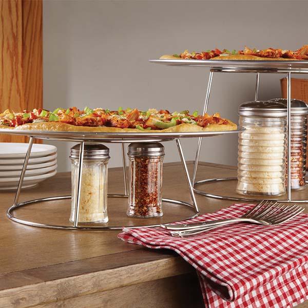 mẫu kệ trưng bày buffet