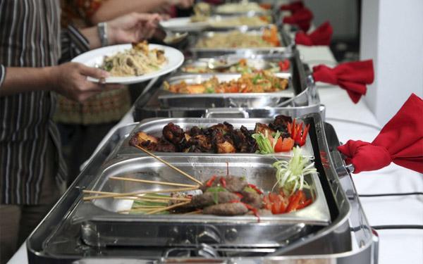 Mua khay inox buffet