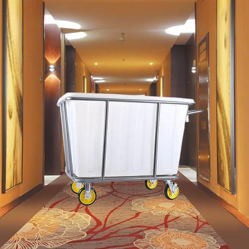 Xe đẩy đồ giặt là bằng nhựa