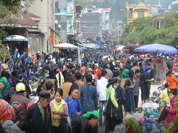 Chợ Vinh Quang - huyện Hoang Su Phì