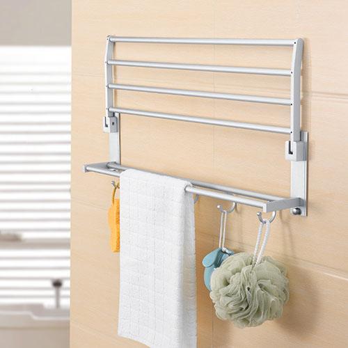 Giá treo khăn nhà tắm 2 tầng