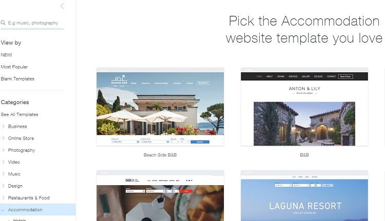 Tạo website bán hàng với Wix
