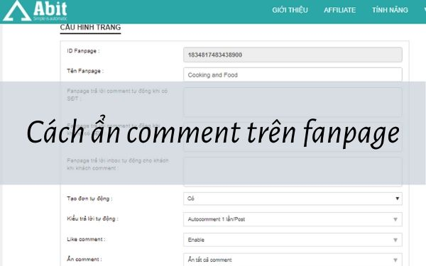 Đọc cách ẩn comment trên fanpage trước khi bị mất khách hàng