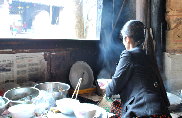 Địa điểm bánh cuốn nổi tiếng Đồng Văn