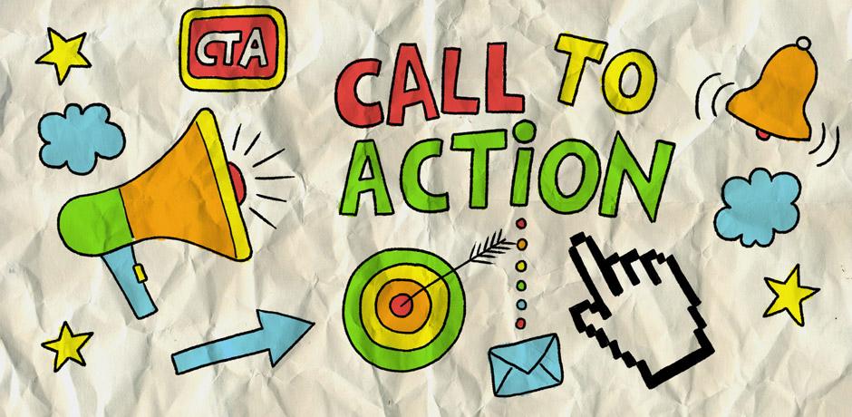 kinh nghiệm làm email marketing phải có lời kêu gọi hành động