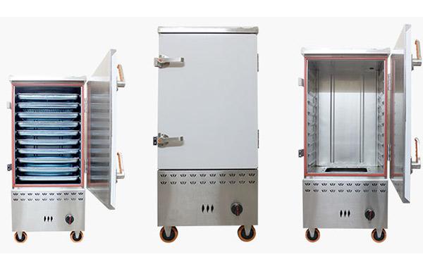 Tủ nấu cơm công suất lớn được nhiều nhà hàng lựa chọn sử dụng