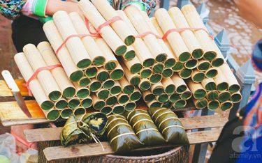 Cơm lam Bắc Mê mang vị ngọt thơm thảo của người Hà Giang