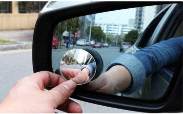 Gương cầu lồi xóa điểm mù ô tô là gì? Có nên sử dụng không?
