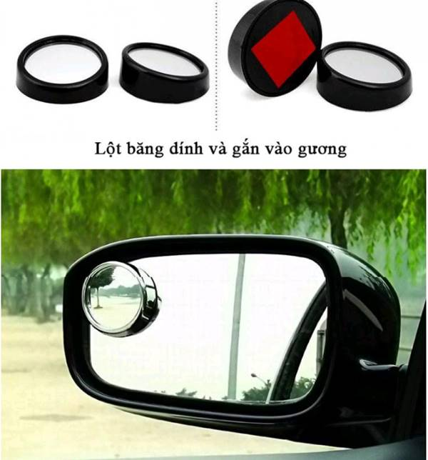 Gương cầu lồi xóa điểm mù ô tô
