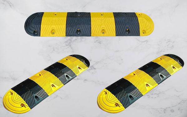 Gờ giảm tốc bằng cao su giúp giảm tốc hiệu quả và an toàn