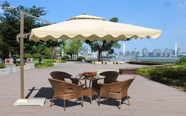 50 mẫu ô dù ngoài trời đẹp nhất cho quán cafe, nhà hàng, khách sạn