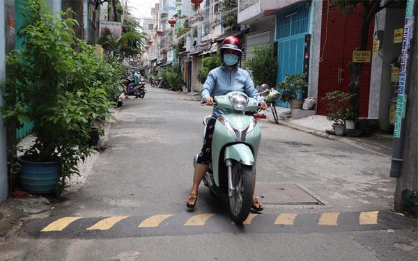Bề mặt đường từ 2,5 mét trở lên mới được phép đặt thiết bị này