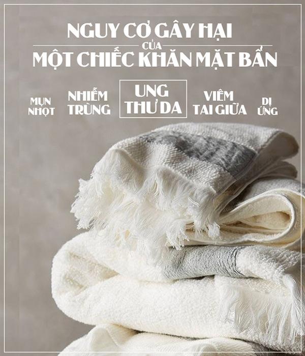 Những sai lầm khi sử dụng khăn tắm mang đến tác hại vô số