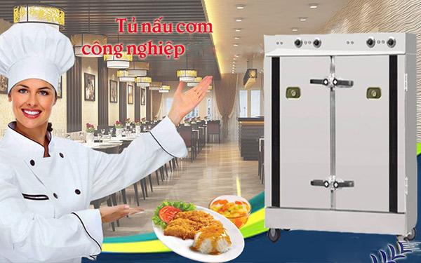 Sử dụng tủ nấu cơm công suất lớn chuyên dùng cho nhà hàng có khó không?