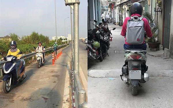 Gờ giảm tốc tự xây không đúng quy định dễ gây tai nạn