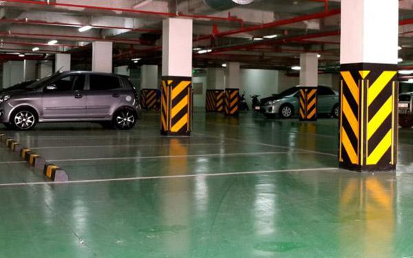 Tầm quan trọng của cao su ốp góc tường trong thiết kế hầm để xe