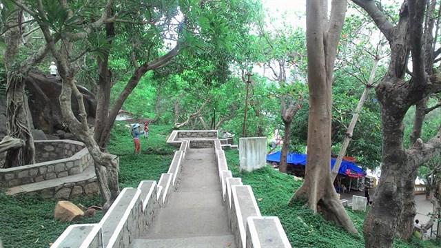 Phong cảnh thiên nhiên tại chùa