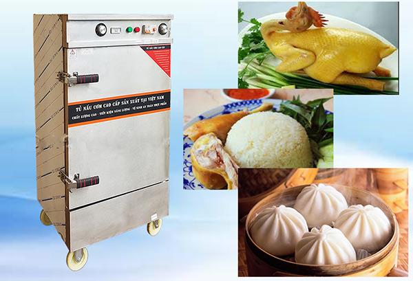 Tủ nấu cơm còn có thể được dùng để hấp thực phẩm