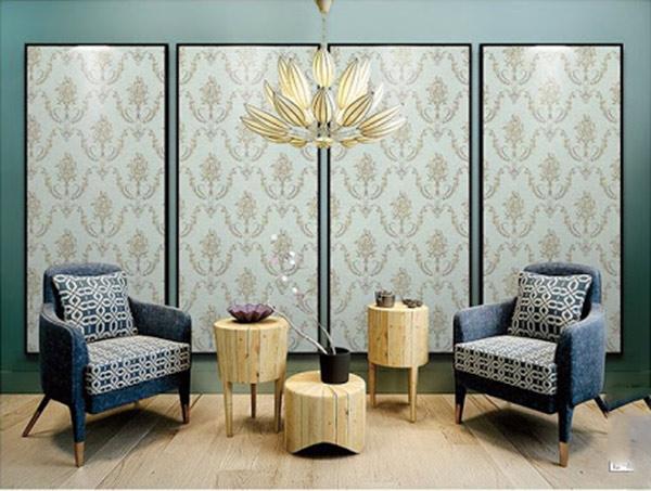 Vải Jacquard ứng dụng nhiều trong ngành trang trí nội thất từ bọc ghế, mành rèm...