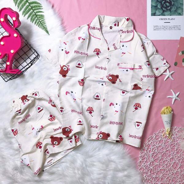 Vải Kate Thái hay dùng để may các bộ pijama xinh xắn