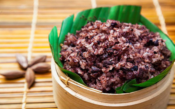 Xôi trám – Món ăn truyền thống của người dân tộc tỉnh Cao Bằng